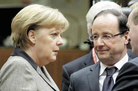 Angela y François