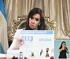 CFK vs buitres